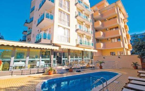 Bulharsko, oblast Primorsko, letecky, snídaně, ubytování v 3* hotelu na 8 dní