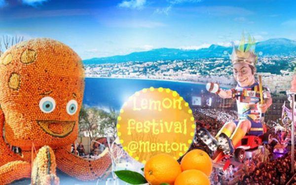 ZÁJEZD do FRANCIE na KARNEVAL světel v Nice a KARNEVAL citrusů v Mentonu s UBYTOVÁNÍM! 27.2.-2.3.2015