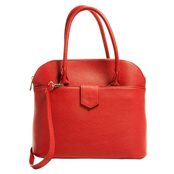 Dámská červená elegantní kabelka Joana and Paola