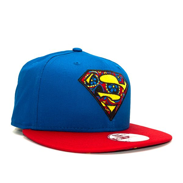 Kšiltovka New Era Floral Infill Superman Official Colors Strapback