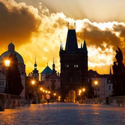 Romantický pobyt v centru Prahy ve 4* hotelu pro 2 osoby
