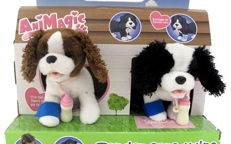 ViViD Animagic - Štěňátka Max a Mitzi, psí dvojčátka