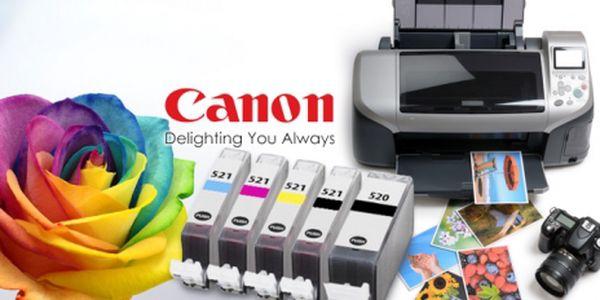 Náplně do tiskáren CANON A EPSON + 50 ks fotopapíru! Doprava zahrnuta v ceně! Tiskněte levně a kvalitně!