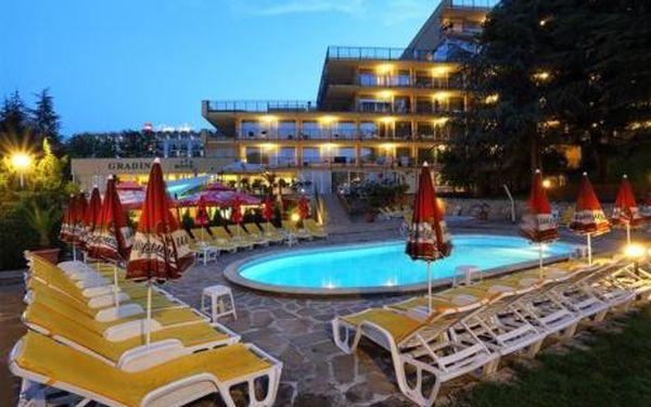 Bulharsko, oblast Zlaté Písky, doprava letecky, snídaně, ubytování v 3* hotelu na 8 dní