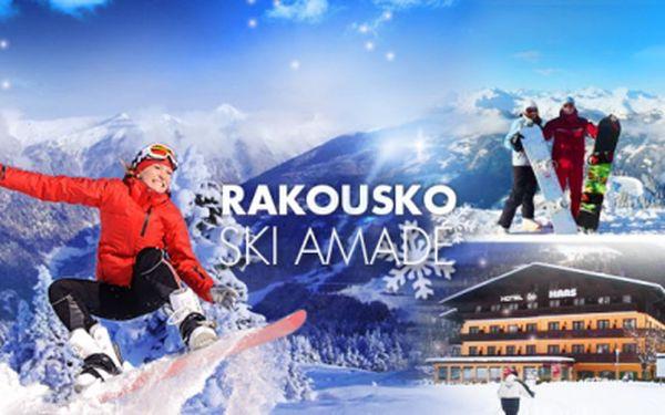 4 dny ve 4* Hotelu Haas! Rakousko, lyžařská oblast Gasteinertal - Ski Amadé! Užijte si dovolenou na lyžích!