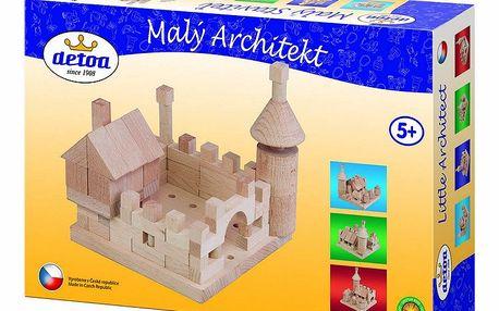 120dílná stavebnice Malý architekt