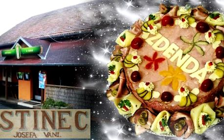 Aspikový dort 2800 gramů