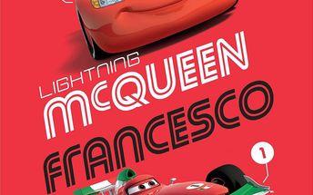 Dětská deka Cars red 2014 pro správné závoďáky jako je hrdina Mc Queen
