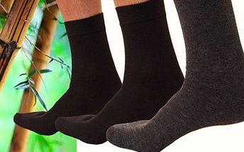 Dárek pro pány: 12 párů ponožek s babusovým vláknem