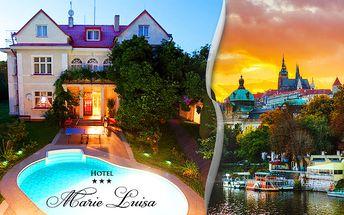 Romantický hotel Marie-Luisa*** pro dva s neomezeným vstupem do bazénu