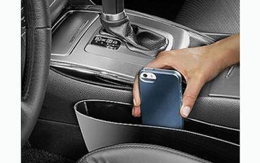 Dva kusy praktického úložného boxu do auta, díky kterému budete mít všechny drobnosti pohromady.