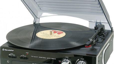 Gramofon Roadstar TTR-8633 + alkoholtester AT600 zdarma