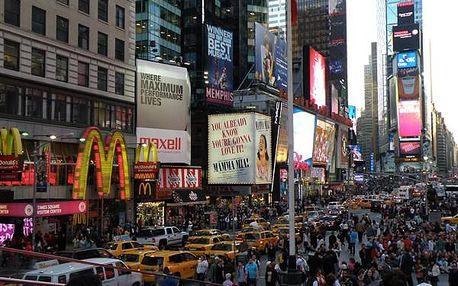 Města východu USA - magnety východního pobřeží, Severní Amerika, USA, letecky, strava dle programu