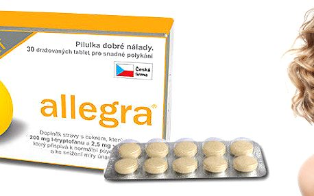"Pilulky ""Dobré nálady"" - Allegra Comfort"