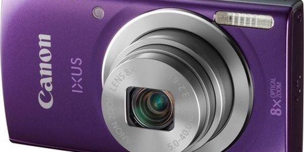 Štíhlý atraktivní fotoaparát Canon IXUS 145