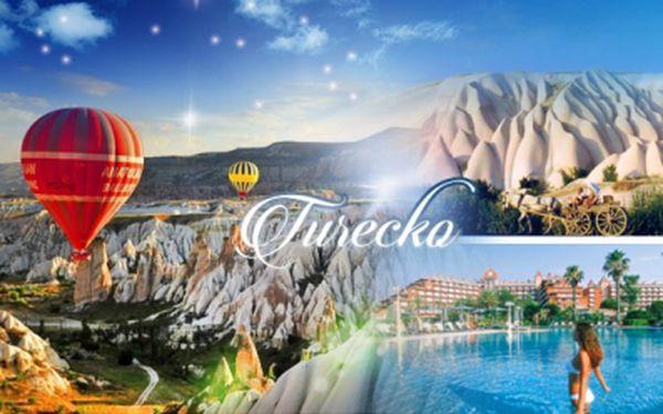 8denní letecký zájezd do TURECKA - KAPPADOKIE a Turecká RIVIÉRA! Ubytování v 4* hotelích, SNÍDANĚ, bohatý PROGRAM!
