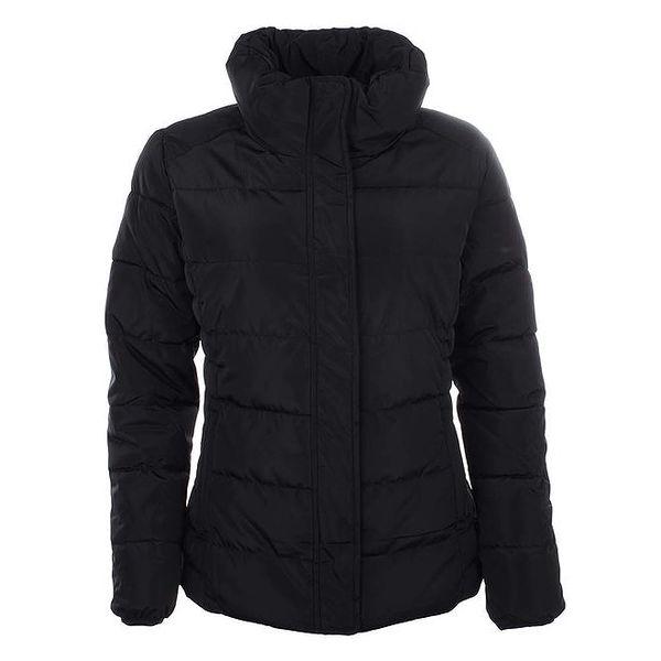 Dámská černá zimní bunda s límcem Timeout