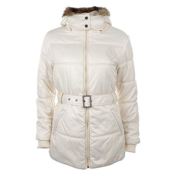 Dámská zimní bunda s páskem Timeout