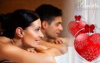 PARTNERSKÁ MASÁŽ při svíčkách. Romantický zážitek a uvolnění pro 2 osoby. Tip na dárek k Valentýnu.