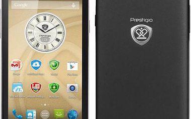 Mobilní telefon Prestigio MultiPhone PAP5453 DUO černý