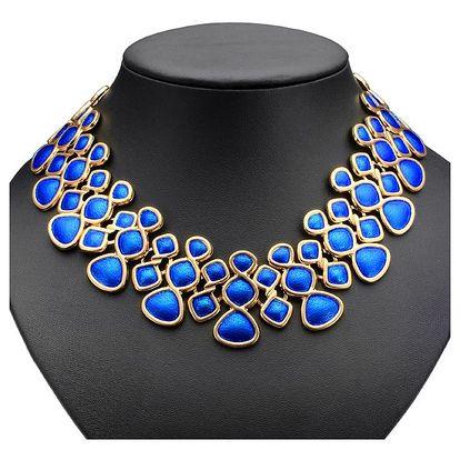 Elegantní náhrdelník v pěti barvách