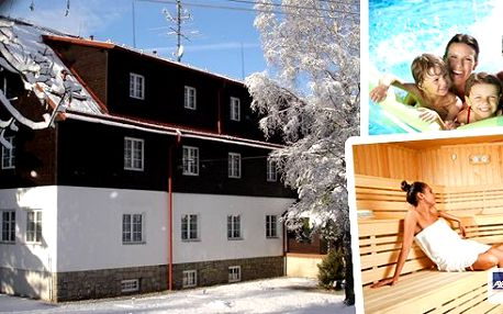 Zimní dovolená v Morávka Mountain Resort - skiareál přímo nad hotelem!! Dále v ceně výtečná polopenze, welcome drink a wellness radovánky - bazén se solí z Mrvého moře neomezeně a sauna!! Perfektní lyžovačka s wellnessem v Beskydech!!
