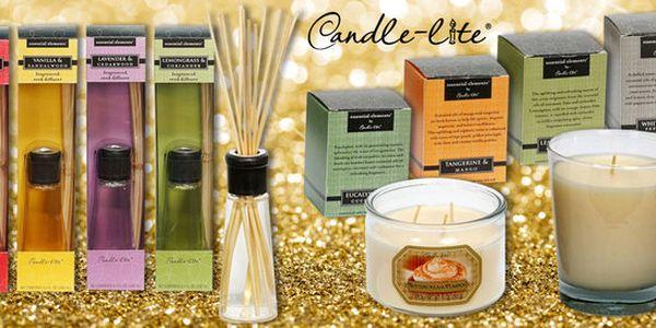 Vonné svíčky a difuzéry tradiční značky Candle Lite