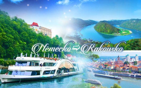 PLAVBA z Německa do Rakouska po DUNAJI! 5 termínů! Návštěva historického města s průvodcem!