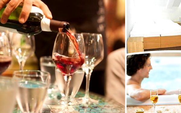 Jarní vinařská relaxační dovolená v Břeclavi v hotelu Čech se snídaněmi, řízenou degustací sommeliérem, degustační sousto a slevy do pizzerie nebo varianta s wellness!! Poznejte nádherný Lednicko-Valtický areál s mnoha skvosty!