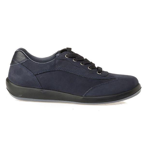 Pánské modré kožené tenisky Crash Shoes
