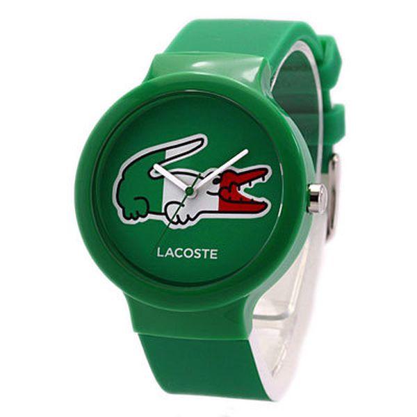 Unisex hodinky Lacoste Goa zelené