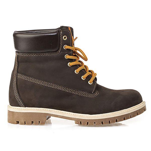Pánské hnědé farmářky Crash Shoes