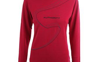 Dámské červené funkční tričko Authority