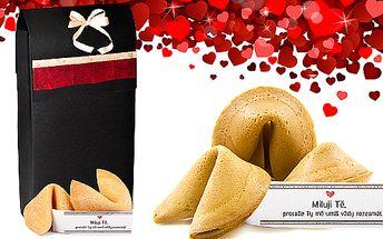 10 kusů smartcookies s ukrytým valentýnským přáníčkem