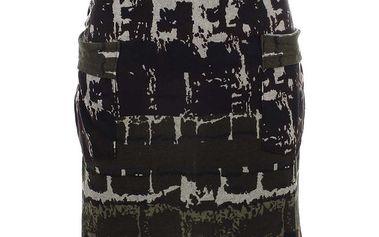 Dámská vzorovaná sukně s kapsami Purple Jam