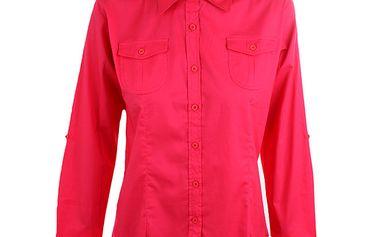 Dámská tmavě růžová košile Authority