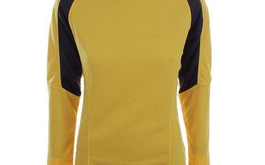 Dámské žluto-černé termo tričko Authority