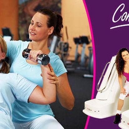 Cvičení na VacuShape ve Fitness Contours