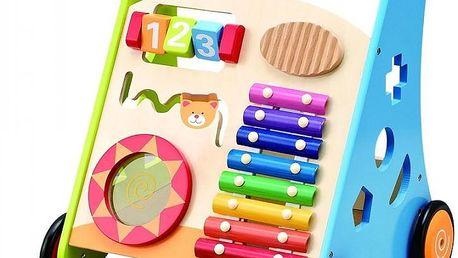 KidsHome Dětské dřevěné chodítko