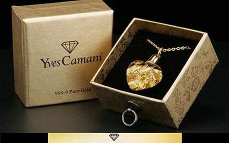 Luxusní náhrdelník se srdcem Yves Camani