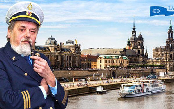 Romantický výlet lodí do Drážďan