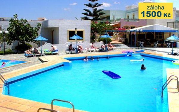 Řecko, oblast Kréta, polopenze, ubytování v 4* hotelu na 8 dní, letecky