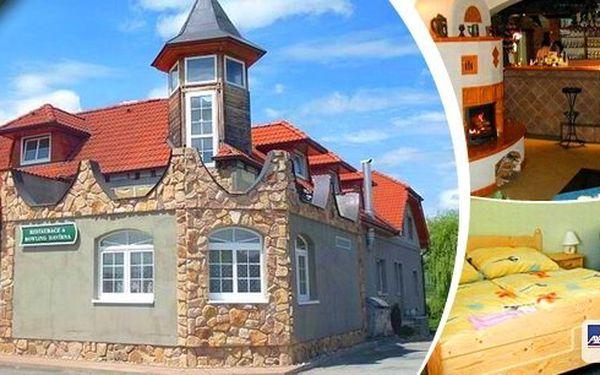 Pobyt v penzionu Havírna pro 2 osoby na 3 dny poblíž Moravského krasu s polopenzí. Romantická tříchodové večeře, moravské speciality, vynikající sudové víno a navíc bowling! Navštivte romantické hrady a zámky a pokochejte se krásnou krajinou Pálavy!