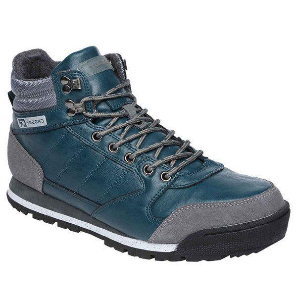 Pánské modré šněrovací boty Crosby
