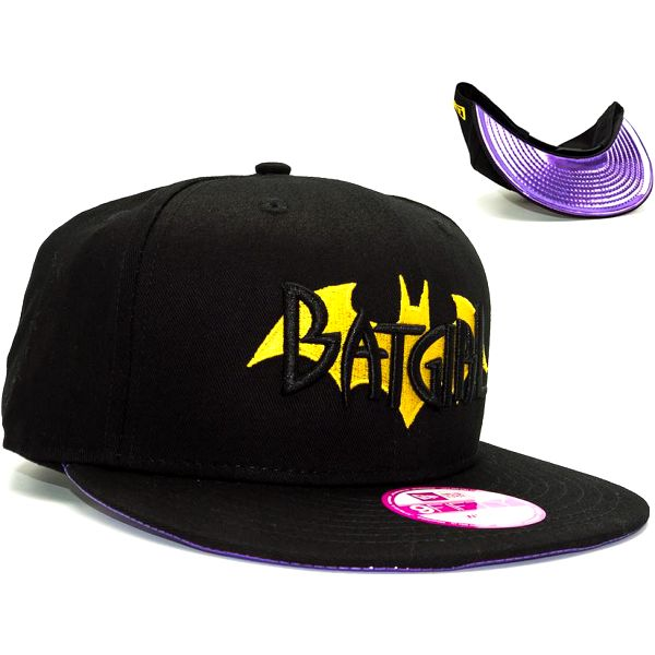 Dámská kšiltovka New Era Super Scripto Batgirl Official Colors Snapback