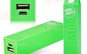 2600mAh externí mobilní baterie různé barvy a poštovné ZDARMA! - 9999916685