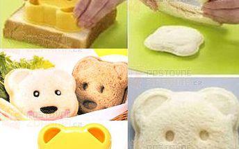 Vykrajovátko toastového chleba - medvídek a poštovné ZDARMA! - 9999916604