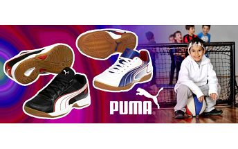 Stylové sálové boty značky Puma