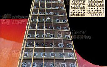 Nalepovací akordy na kytaru pro začátečníky a poštovné ZDARMA! - 9999916648