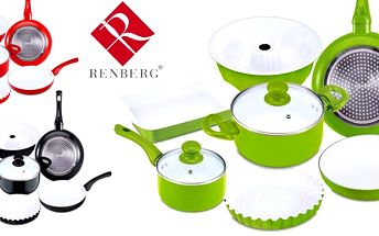 9dílná sada nádobí Renberg